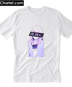 ALL ALONE - SAD JAPANESE ANIME T-Shirt PU27