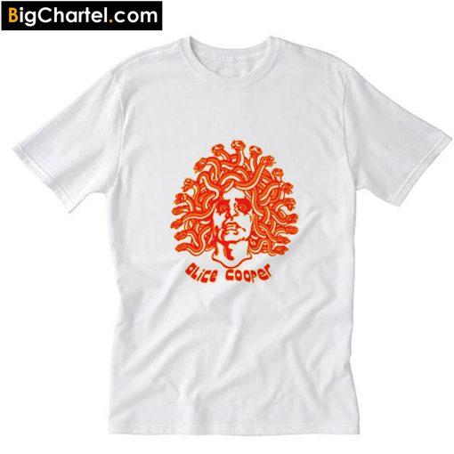 Alice Cooper Medusa Snake Head T-Shirt PU27