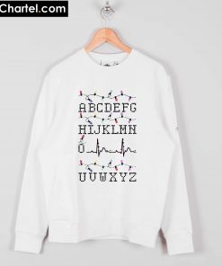 Alphabet Heartbeat Christmas Sweatshirt PU27