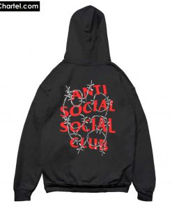Anti Social Social Club ASSC Barbara Hoodie Back PU27