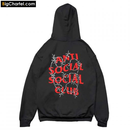 Anti Social Social Club ASSC Barbara Hoodie Back PU27