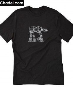 At-At Vintage Star Wars T-Shirt PU27