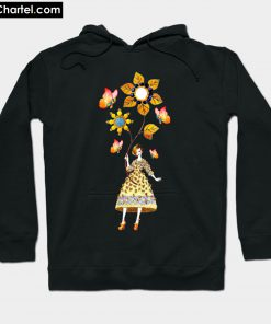 Awareness Flowers Girls Hoodie PU27