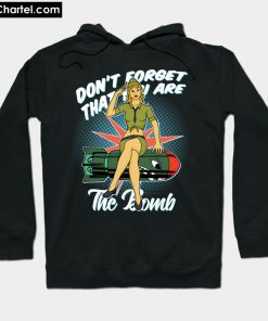 BOMB ARMY PIN UP GIRL Hoodie PU27