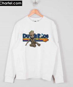 Baby Groot Dutch Bros coffee Sweatshirt PU27