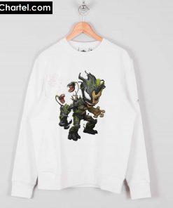 Baby Groot Venom Sweatshirt PU27