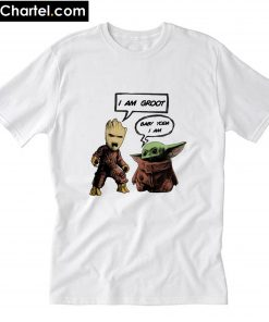 Baby Groot and Baby Yoda T-Shirt PU27