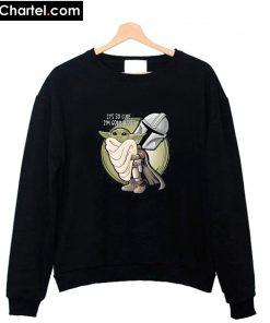 Baby Yoda So Cute I'm Gonna Die The Mandalorian Star Wars Sweatshirt PU27