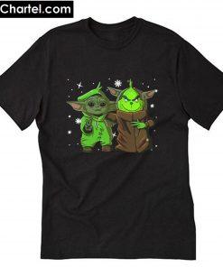 Baby Yoda and Baby Grinch T-Shirt PU27