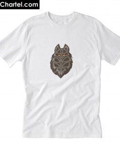 Celtic Symbol Wolf T-Shirt PU27
