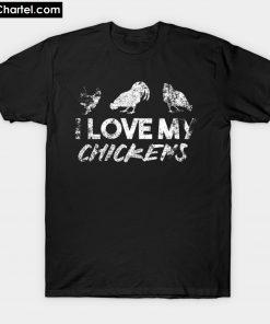 Chicken farmer gift T-Shirt PU27