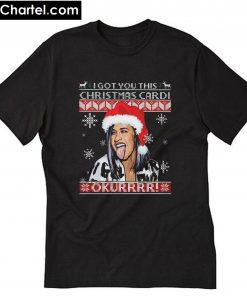 Christmas Cardi B T-Shirt PU27