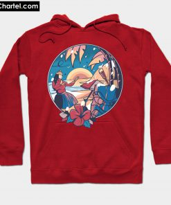 Christmas In Hawaii Hoodie PU27