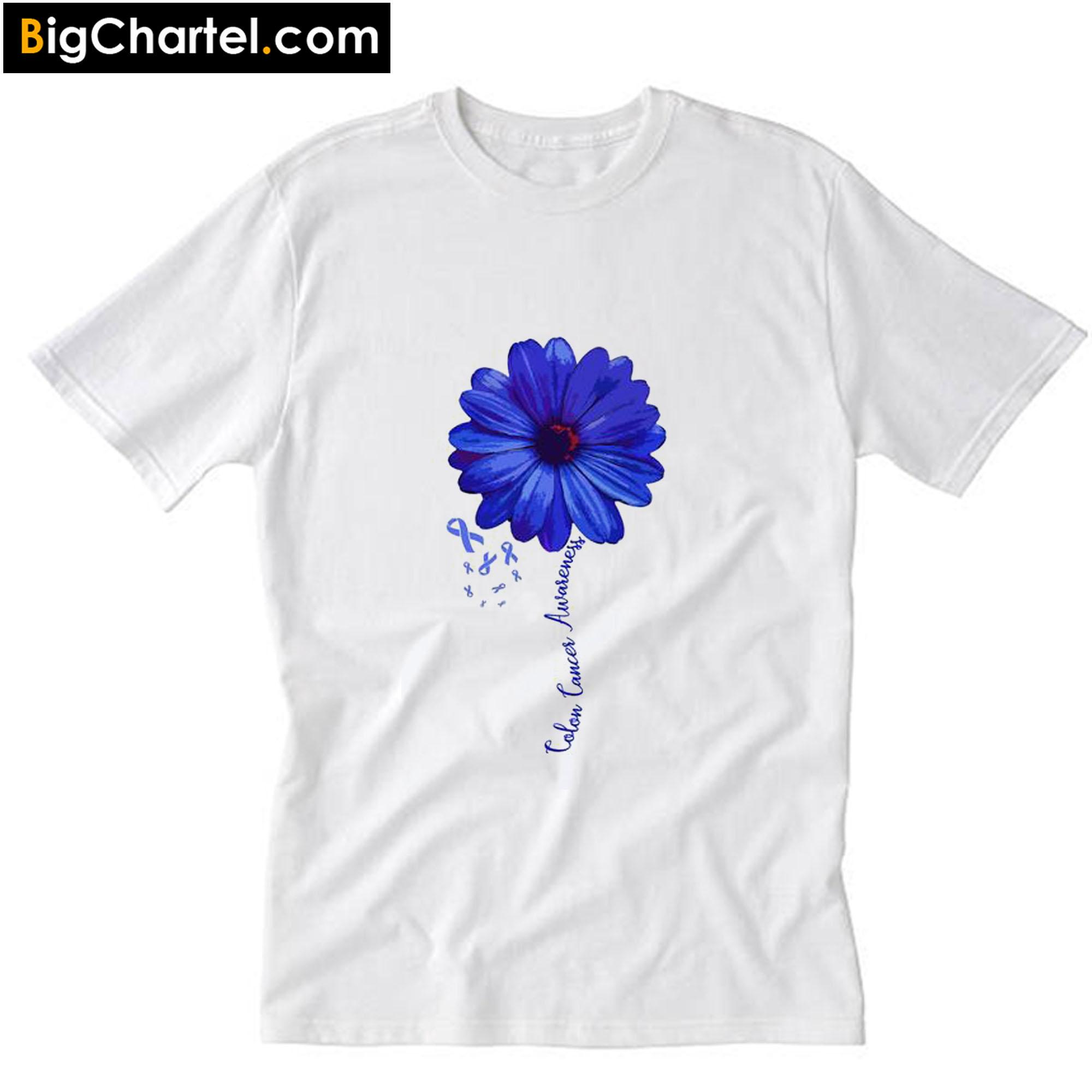 Colon Cancer Awareness T Shirt Pu27