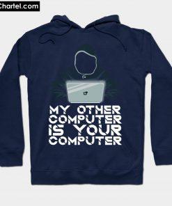 Ethical Hacking Guy Hoodie Laptop Hoodie PU27