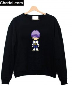 Trunks In Saiyan Armor Dragon Ball Z Sweatshirt PU27