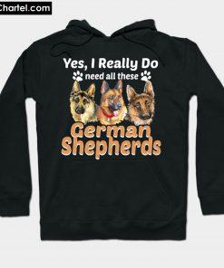 Unique Gifts for German Shepherd Lovers Hoodie PU27