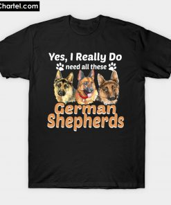 Unique Gifts for German Shepherd T-Shirt PU27