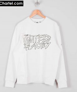 United Races white Sweatshirt PU27