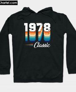 Vintage Classic 1978 Hoodie PU27