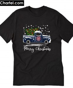 Washington Nationals pickup truck Merry Christmas T-Shirt PU27