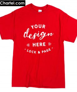 your design here lock and page T-Shirt PU27