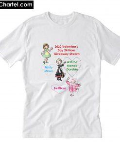 2020 Valentine's Day Ensemble T-Shirt PU27