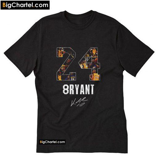 24 8ryant - Kobe Bryant T-Shirt PU27