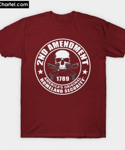 2nd AMENDMENT PRO GUNS T-Shirt PU27