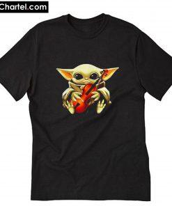 Baby Yoda Happy Valentine's Day you T-Shirt PU27