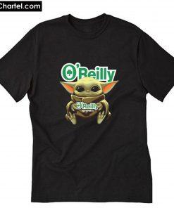 Baby Yoda Hug O'reilly Auto Parts T-Shirt PU27