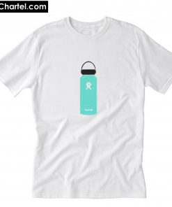 Blue Hydroflask Sticker T-Shirt PU27