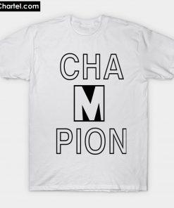 CHAMPION BRAD PITT T-Shirt PU27