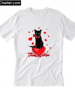Cat Valentine's Day T-Shirt PU27
