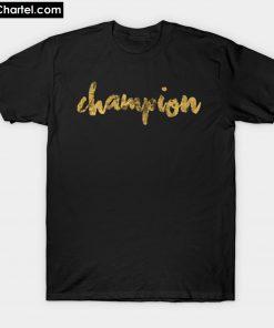 Champion Gold T-Shirt PU27