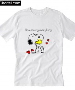 Valentine snoopy you are my everythin T-Shirt PU27