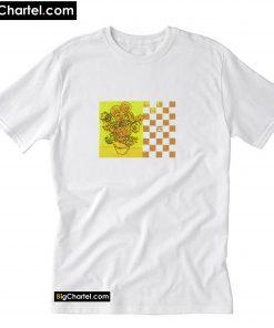Van Gogh Sunflower Boyfriend T-shirt PU27