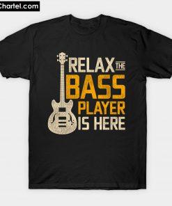 Vintage Bass Player T-Shirt PU27