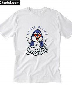You make my heart smile T-Shirt PU27