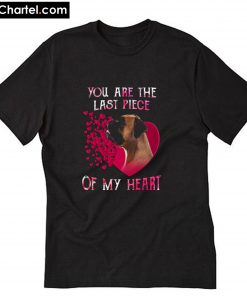 you are the last piece of my heart Valentine's day T-Shirt PU27