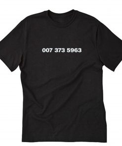 007 373 5963 T-Shirt PU27