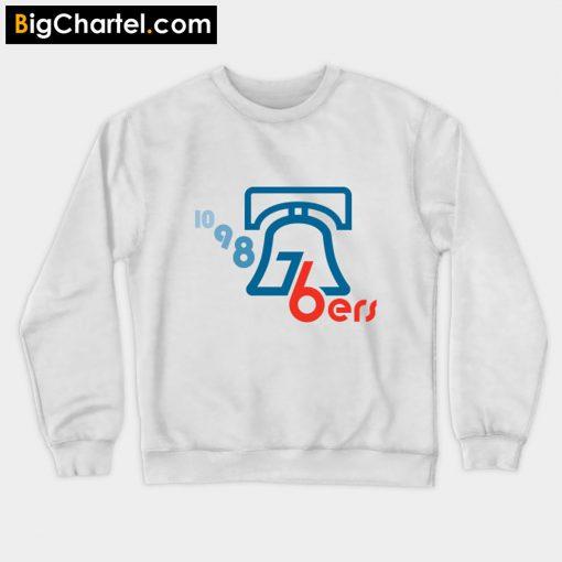 10-9-8-76ers – blue bell Sweatshirt PU27