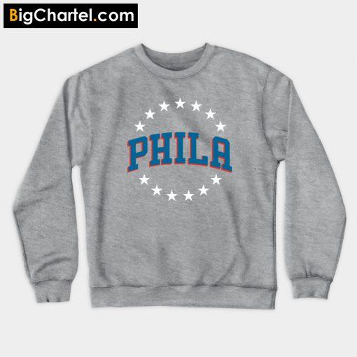 76ers Phila City Sweatshirt PU27
