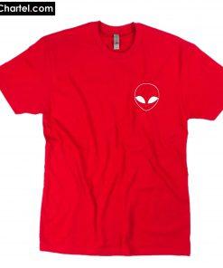 Alien pocket logo T-Shirt PU27