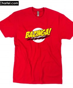BAZINGA Popular Tv Show T-Shirt PU27