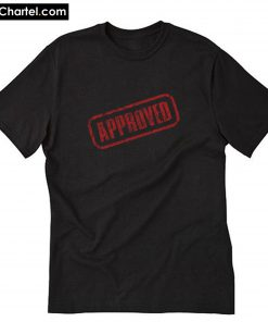 Black approved T-Shirt PU27