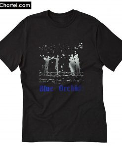 Blue Orchids band T-Shirt PU27
