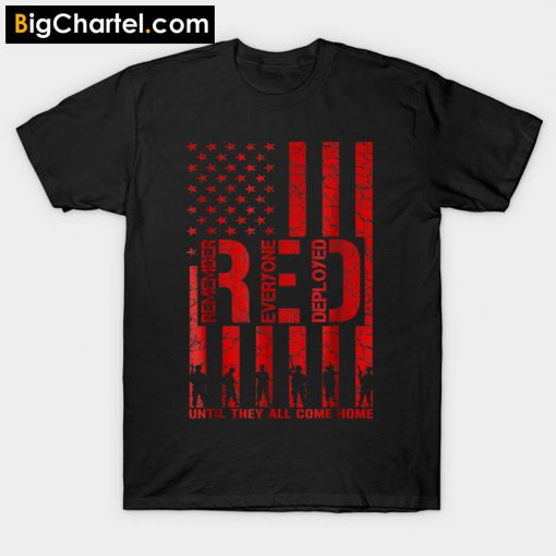 Red Friday Military T-Shirt PU27