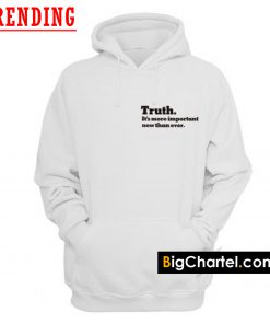 The New York Times Truth Hoodie PU27