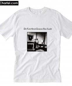 Townes Van Zandt The Late Great 1972 T-Shirt PU27